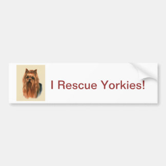 Yorkshire Terrier Autoaufkleber