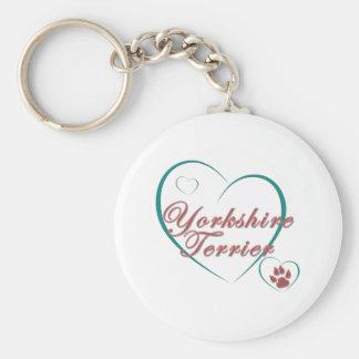 Yorkshire-Terrier-Liebe Schlüsselanhänger