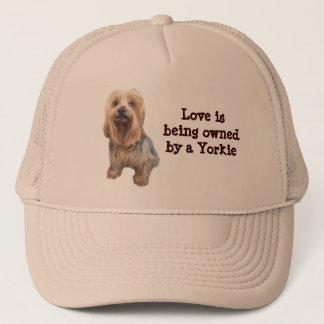 Yorkshire-Terrier-so niedlicher Hut Truckerkappe