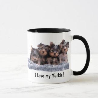 Yorkshire-Terrier-Welpen-Tasse Tasse