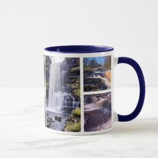 """""""Yorkshire-Wasser"""" 4 Wasserfälle Tasse"""