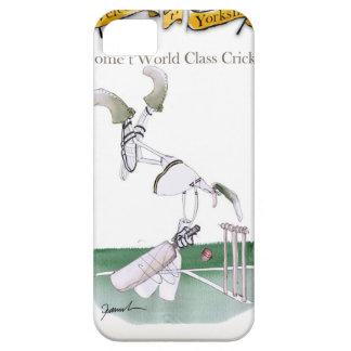 Yorkshire'Zuhause zu Weltklasse cricket iPhone 5 Schutzhüllen