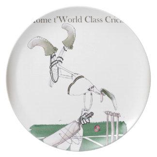 Yorkshire'Zuhause zu Weltklasse cricket Teller