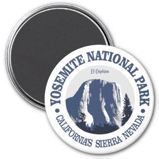 Yosemite 2 runder magnet 7,6 cm