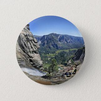 Yosemite Falls vom Ausblick - Yosemite Runder Button 5,7 Cm