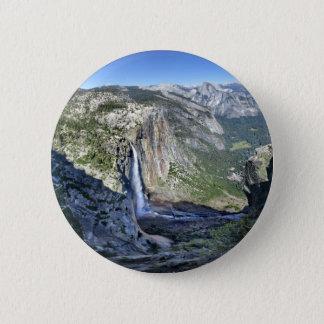 Yosemite Falls von Eagle-Turm - Yosemite Runder Button 5,7 Cm
