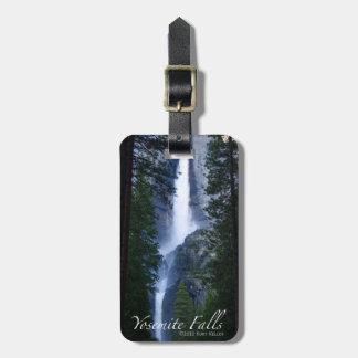 Yosemite- Fallsnatur-Fotografie-Gepäckanhänger Gepäckanhänger