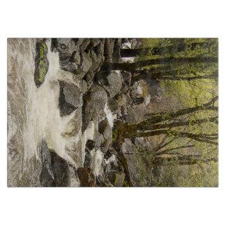Yosemite-Fließenstrom-Schneidebrett Schneidebrett