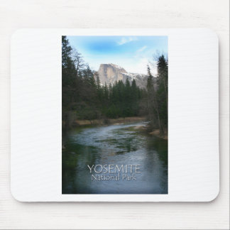 Yosemite Nationalpark halbe Haube Mousepad