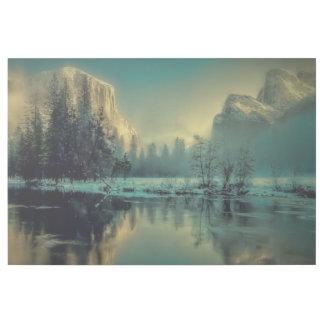Yosemite Nationalpark Landschaft Galerieleinwand