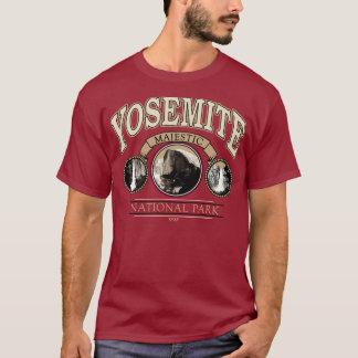 Yosemite Nationalpark majestätisches Fall-T-Shirt T-Shirt