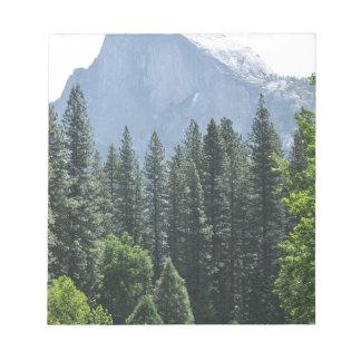 Yosemite Nationalpark Notizblock