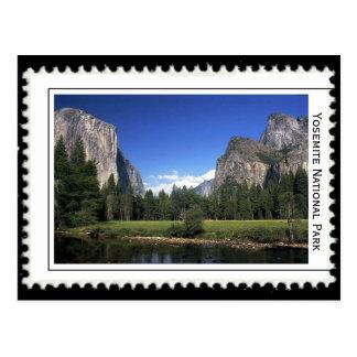 Yosemite Nationalpark Postkarte