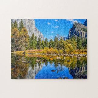 Yosemite Nationalpark Puzzle
