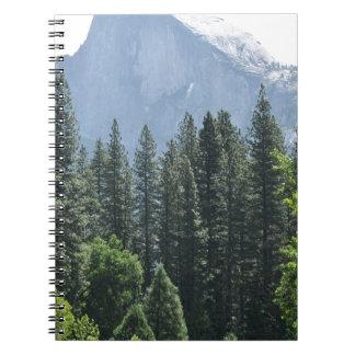 Yosemite Nationalpark Spiral Notizblock
