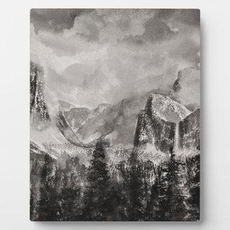 Yosemite-Park im Winter Fotoplatte