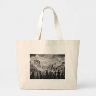 Yosemite-Park im Winter Jumbo Stoffbeutel