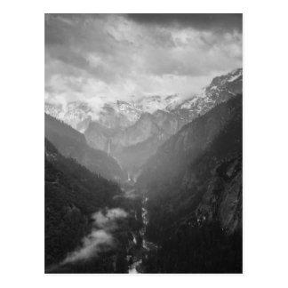 Yosemite Postkarte