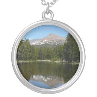 Yosemite See-Reflexion Versilberte Kette