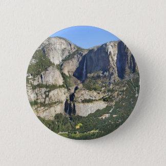 Yosemite-Tal-Panorama 3 - Yosemite Runder Button 5,7 Cm