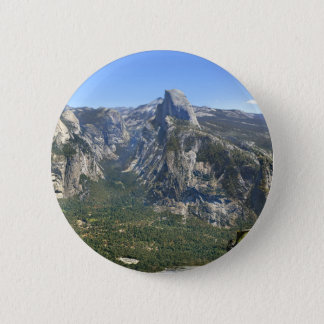Yosemite-Tal-Panorama - Yosemite Runder Button 5,1 Cm