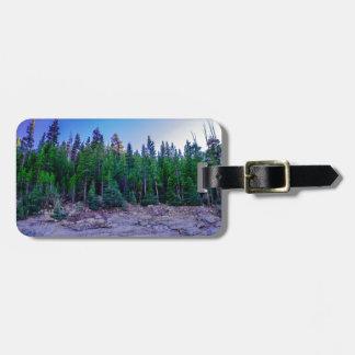 Yosemite-Tal-Wald u. Himmel Kofferanhänger