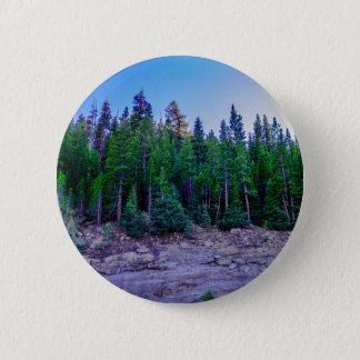 Yosemite-Tal-Wald u. Himmel Runder Button 5,7 Cm