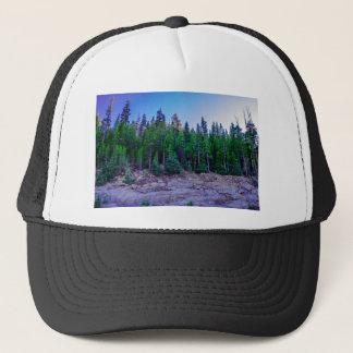 Yosemite-Tal-Wald u. Himmel Truckerkappe