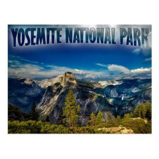 Yosemite-Tal-Yosemite Nationalpark Postkarte