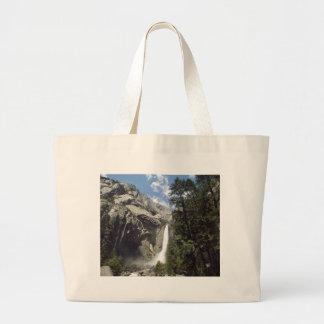 Yosemite-Wasserfall Jumbo Stoffbeutel