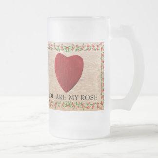 You are my rose matte glastasse
