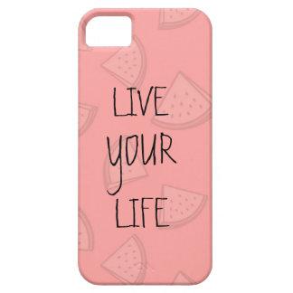 YOUR LIFE trinkt iPhone 5 Schutzhüllen