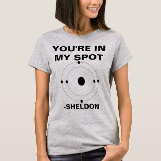 Your'e in meinem Stelle Sheldon Shirt