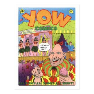 Yow Comicen #1, 1978 Postkarte