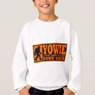 YOWIE: ICH KOMME vom LAND UNTEN DARUNTER - Bigfoot Sweatshirt