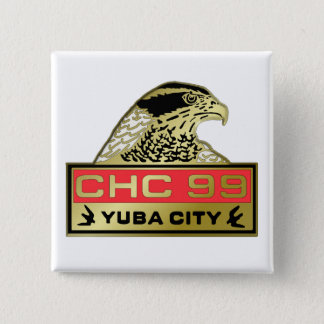 Yuba City 1999 Quadratischer Button 5,1 Cm