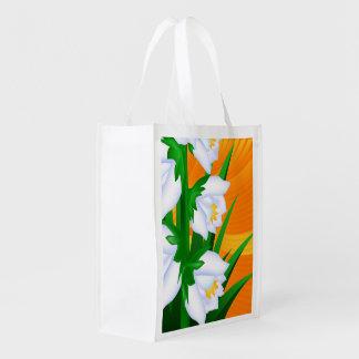 Yucca-Blume Wiederverwendbare Einkaufstasche