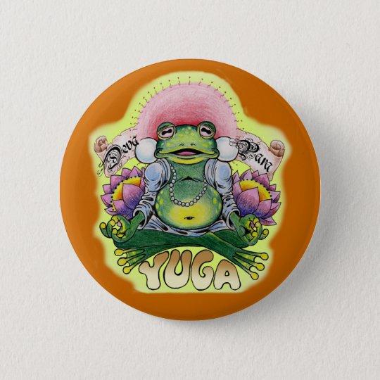 Yuga-Frosch Runder Button 5,7 Cm