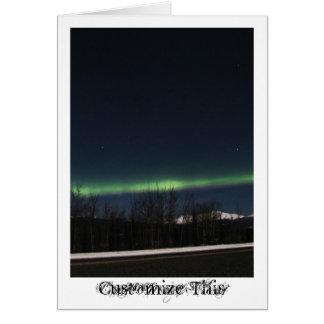 Yukon-Aurora Borealis; Kundengerecht Karte