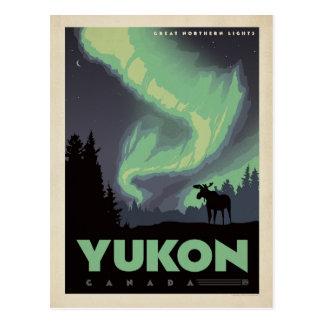 Yukon, Kanada Postkarte