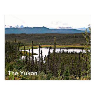 Yukon-Teich Postkarte