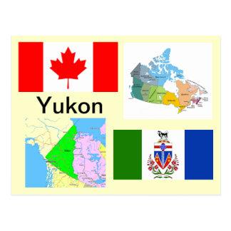 Yukon-Territorium Kanada Postkarte