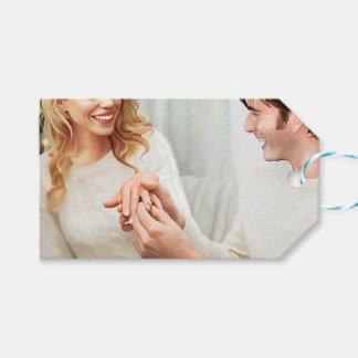 Yuletide Verlobung Geschenkanhänger