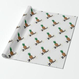 yum_ananasli geschenkpapier