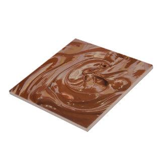 Yum Yum Schokolade Kleine Quadratische Fliese