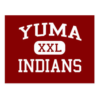 Yuma - amerikanischer Ureinwohner - Yuma Postkarte