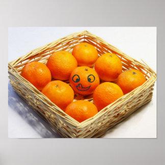 yummi Clementines Plakatdruck