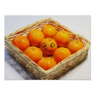 yummi Clementines Poster