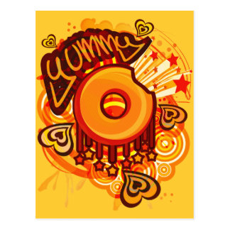 Yummy_Doughnut Postkarte