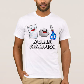 Yummys Papierfelsen Scissors Weltmeister-T - Shirt